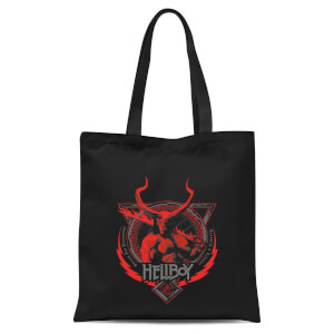 Hellboy Hell's Hero Tote Bag - Black