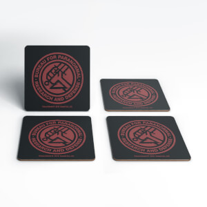 Hellboy B.P.R.D. Coaster Set