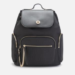 Tommy Hilfiger Women's Core Nylon Backpack - Black