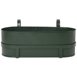 Ferm Living Bau Balcony Pot - Dark Green