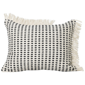 Ferm Living Way Outdoor 70cm x 50cm Cushion - White/Black