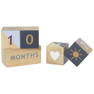 Ferm Living Kids' Wooden Age Blocks