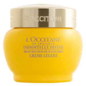 L'Occitane Immortelle Divine Light Cream SPF 20 (Net Wt. 1.7 oz.)