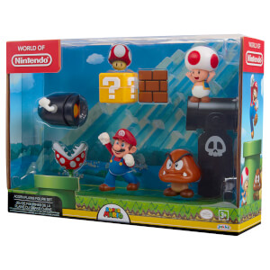 Super Mario Acorn Plains Figure set
