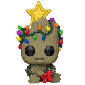 Figurine Pop! Groot - Marvel Noël