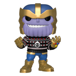Marvel Holiday - Thanos Natalizio Figura Pop! Vinyl