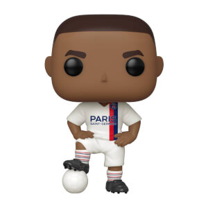 Paris Saint-Germain Kylian Mbappe Third Kit Football Pop! Vinyl Figure