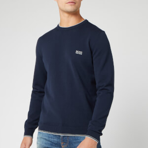 BOSS Men's Rimex Knit Jumper - Navy