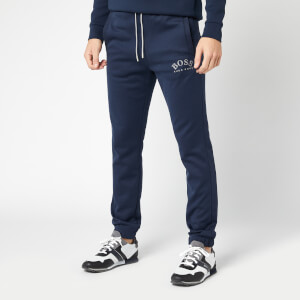 BOSS Men's Hadiko Cuffed Sweatpants - Navy