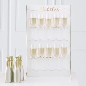 Ginger Ray Gold Foiled Prosecco Wall