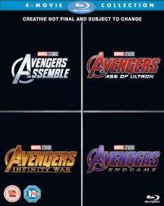 Avengers 1-4 coffret Blu-ray