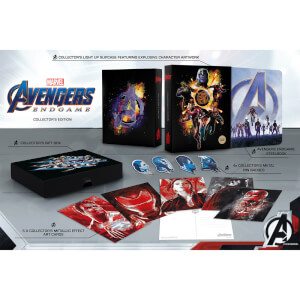 Avengers : Endgame 3D Zavvi Exclusive Collector's Edition Steelbook (Includes 2D Blu-ray)