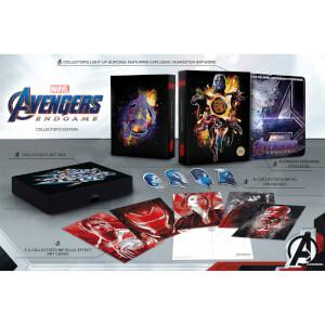 Vengadores: Endgame 3D - Steelbook Edición Coleccionista Exclusivo de Zavvi (Edición GB)