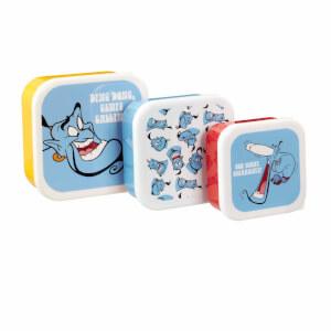 Lot De 3 Rangements Plastique Génie - Funko Homeware - Disney Aladdin