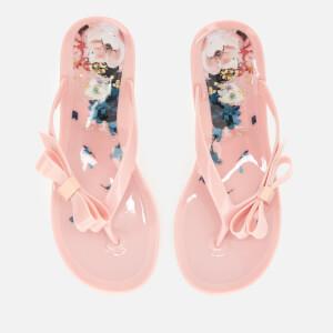 Ted Baker Women's Suzzip Bow Flip Flops - Light Pink