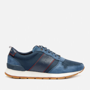Ted Baker Men's Lhennis Textile/Nubuck Running Style Trainers - Dark Blue