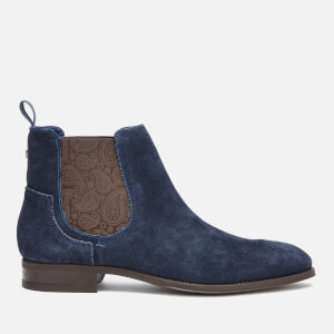 Ted Baker Men's Travics Suede Chelsea Boots - Dark Blue