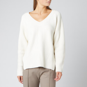 See By Chloé Women's V Neck Knit Jumper - White