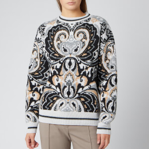 See By Chloé Women's Paisley Design Jumper - Multi
