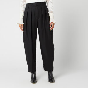 See By Chloé Women's Pleated Trousers - Black