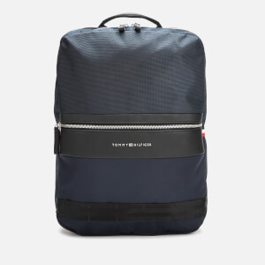 Tommy Hilfiger Men's Nylon Mix Backpack - Tommy Navy