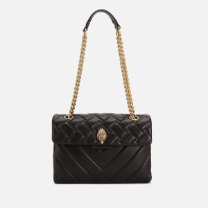 Kurt Geiger London Women's Leather Kensington Bag - Black