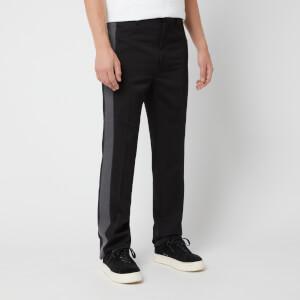 Lanvin Men's Ribbon Side Stripe Pants - Black