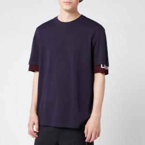 Lanvin Men's Double Sleeve T-Shirt - Ink Blue