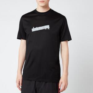 Lanvin Men's Lanvin Barre Slim Fit T-Shirt - Black