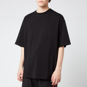 Lanvin Men's Oversized Barre Logo T-Shirt - Black