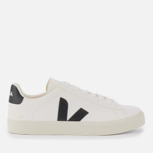 Veja Men's Campo Low Top Trainers - White/Black