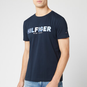 Tommy Hilfiger Men's Hilfiger Applique T-Shirt - Sky Captain