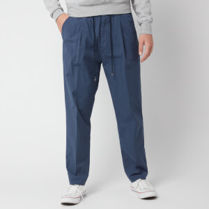 Tommy Hilfiger Men's Puppytooth Active Cotton Pants - Blue Quartz