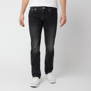 Tommy Hilfiger Men's Straight Denton 2Str Jeans - Pearce Black