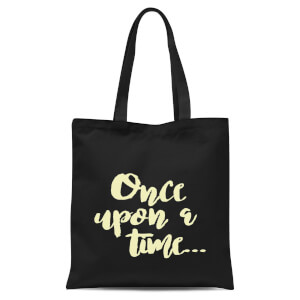 Once Upon A Time Tote Bag - Black