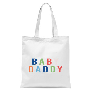Baby Daddy Tote Bag - White