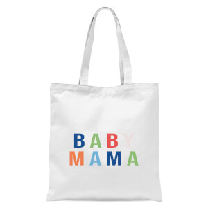 Baby Mama Tote Bag - White