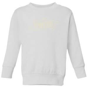 My Little Princess Kids' Sweatshirt - White