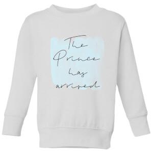 The Prince Has Arrived Kids' Sweatshirt - White