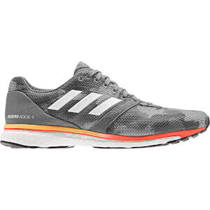 adidas Adizero Adios 4 Running Shoes - Grey