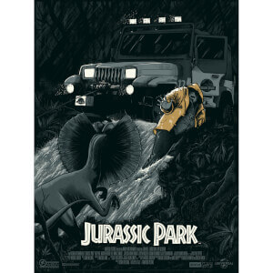"Jurassic Park ""No Wonder You're Extinct"" Screenprint (Variant)"