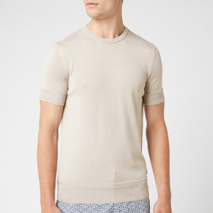 Orlebar Brown Men's Laughton Cotton Silk T-Shirt - Pale Birch