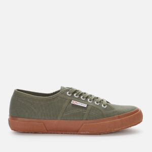 Superga Men's 2750 Cotu Classic Trainers - Green Sherwood Gum