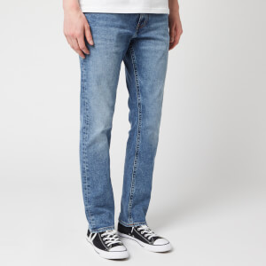 Tommy Jeans Men's Original Straight Ryan Jeans - Dallas Mid Blue