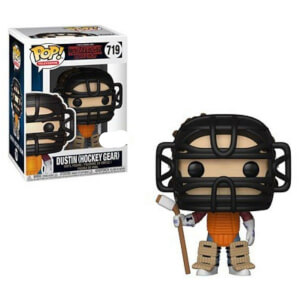 Figura Funko Pop! - Dustin Traje Hockey EXC - Stranger Things