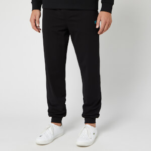 BOSS Men's Jersey Sweatpants - Black/Turquoise
