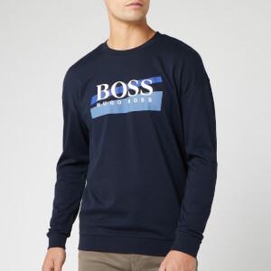 BOSS Men's Authentic Sweatshirt - Navy/Blue