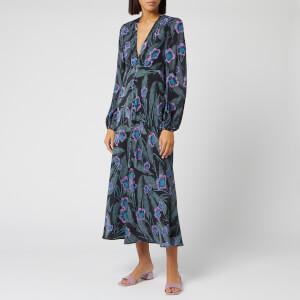 RIXO Women's Tahnee Hawaiian Flower Maxi Dress - Multi