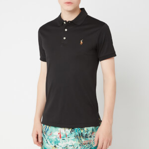Polo Ralph Lauren Men's Pima Soft Touch Polo Shirt - Polo Black