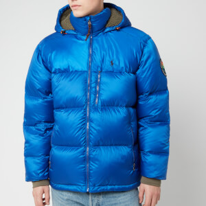 Polo Ralph Lauren Men's Jackson Down Hooded Jacket - Sapphire Star